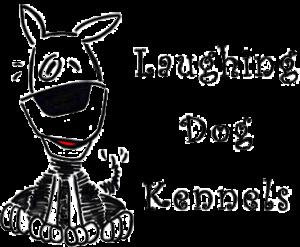 Black Logo Laughing Dog Kennels